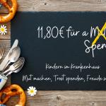 Spendenaktion – A Spende, statt da Oktoberfest Maß