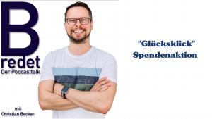 B-redet Podcast unterstützt PädCare mit Glücksklick-Spendenaktion