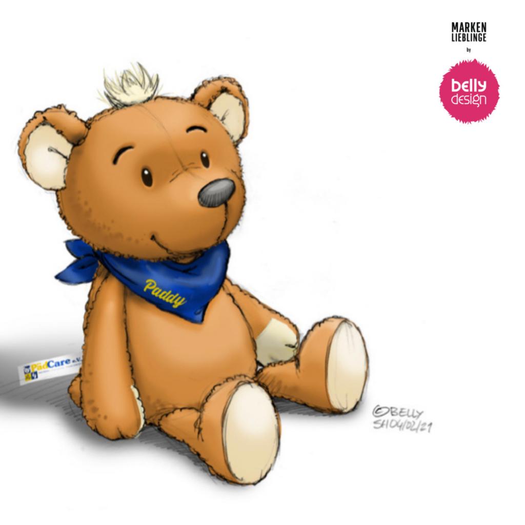 Paddy - der Teddy für Kinder im Krankenhaus