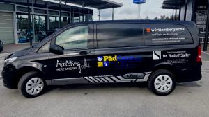 Meilenstein – Wir begrüßen unseren Transporter
