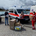 540 Kuschelkissen für die Kreiswasserwacht München
